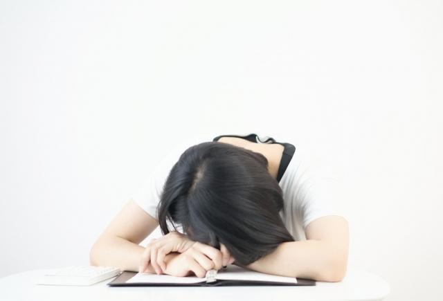 不眠症の放置